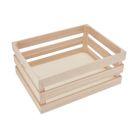 Wooden Crate Medium Kmartnz