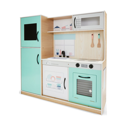 Superieur Large Wooden Kitchen Playset