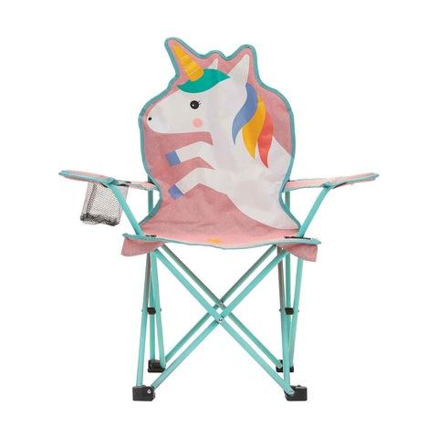 Kids Camp Chair Unicorn Kmartnz