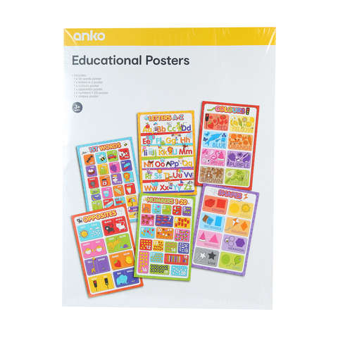 Educational Posters | KmartNZ