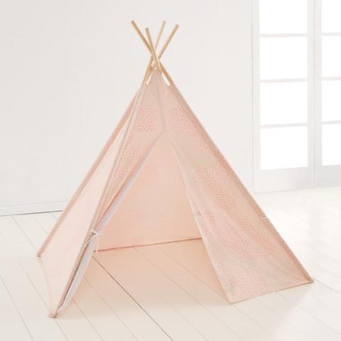 Tee Pee Play Tent - Peach & Tee Pee Play Tent - Peach | KmartNZ