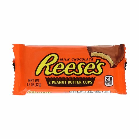 Reese/'s White Peanut Butter Cup 42 g Pack of 24