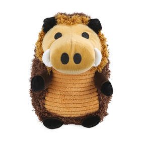 Plush Warthog Pet Toy - WAS $6.5 on 08/03/17