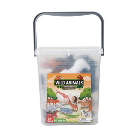 60 Piece Wild Animals Adventure Set