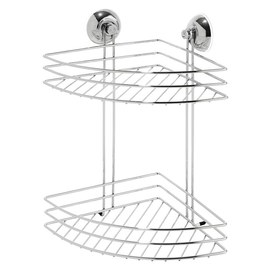 2 Tier Suction Corner Caddy