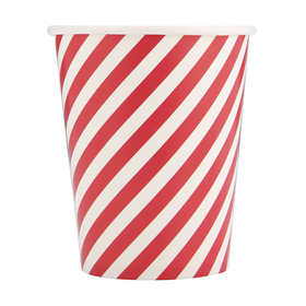 10 Pack Candy Cane Cups
