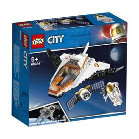 LEGO City Space Port Satellite Service Mission - 60224