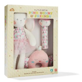 Pink Bunny and Friends Gift Set