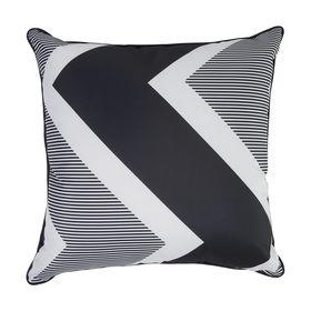 Awesome 50cm Chevron Outdoor Cushion