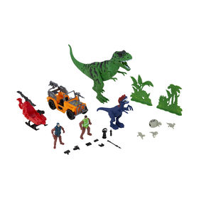 Action Hero Series Dinosaur Attack Play Set