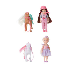 Mini Doll and Pony - Assorted