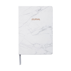 Marble Journal - A5, Rose Gold