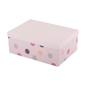 Extra Large Polka Dot Gift Box