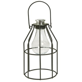 Metal Cage Solar Light