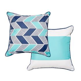 Reversible 38cm Outdoor Cushion - Cove