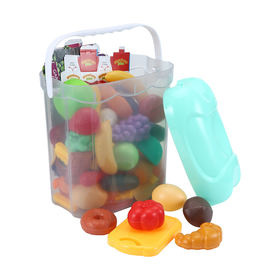 90-Piece Play Food Set