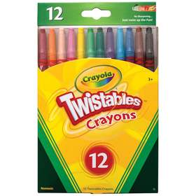Crayola Twistable Crayons - Pack of 12