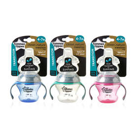 Tommee Tippee 150ml Closer to Nature Transition Cup - Assorted