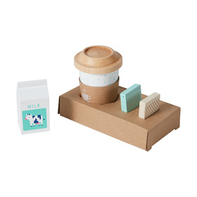 Wooden Coffee To Go Set