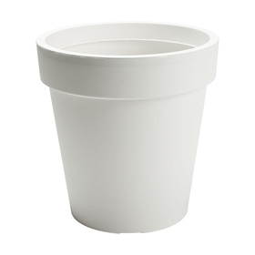 Plastic Pot - White