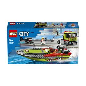 LEGO City Great Vehicles Race Boat Transporter - 60254
